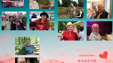 na zdjęciu znajduje się collage z podobiznami mieszkańców